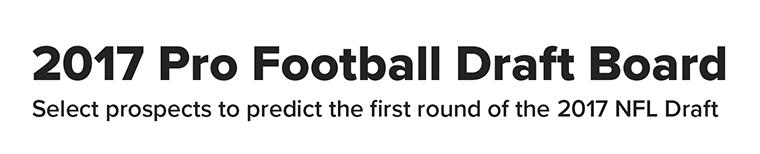 CBS Sports - 2017 Pro Football Draft Board