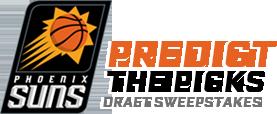 Phoenix Suns Predict the PIcks draft sweepstakes logo