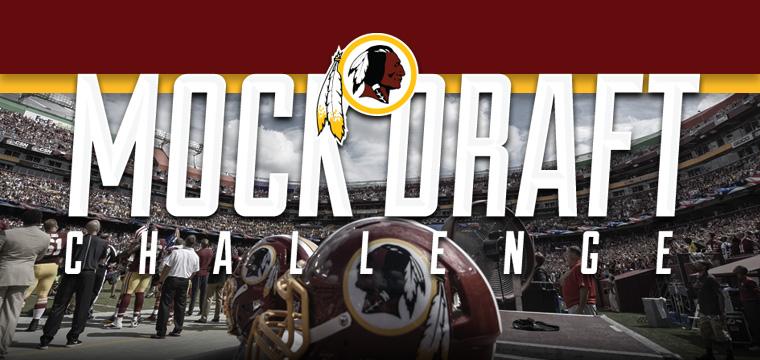 Redskins Mock Draft Challenge